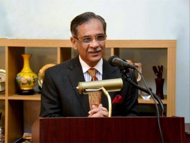 Ex CJP announced the public fund for construction of dams in Pakistan.